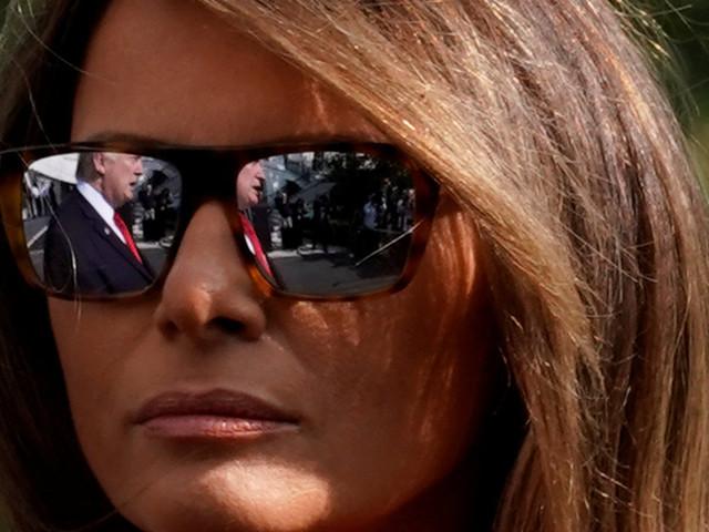 Melania Trump's Davos Cancellation A 'Subliminal Message' To Donald?