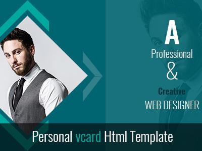SJ DESIGNS Personal vcard Html Template (Virtual Business Card)