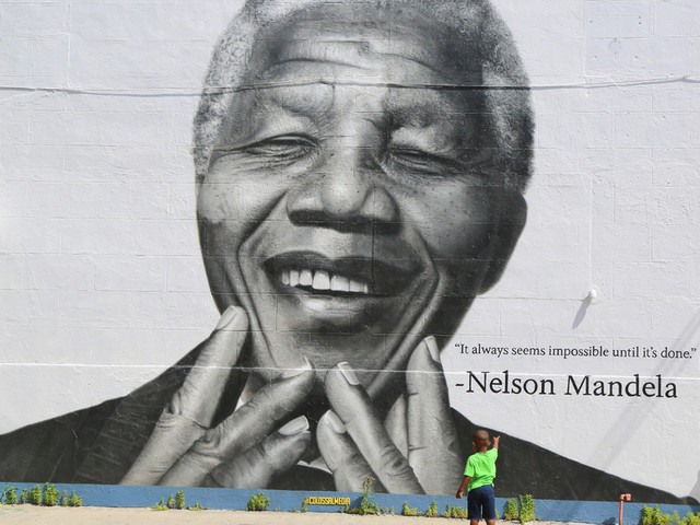 A Nelson Mandela Exhibition Has Opened In Waterloo... But It's Flawed
