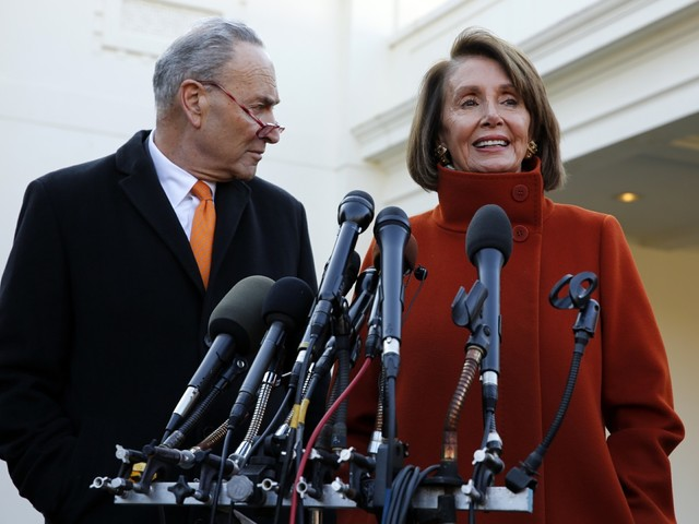 Speaker of the House Nancy Pelosi isn't ruling out indicting or impeaching Trump