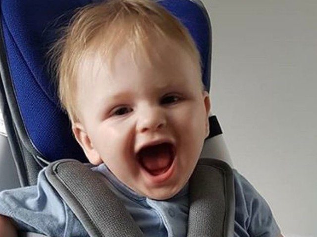 Mum's 'world fell apart' when doctor told her baby boy unlikely to ever walk or talk