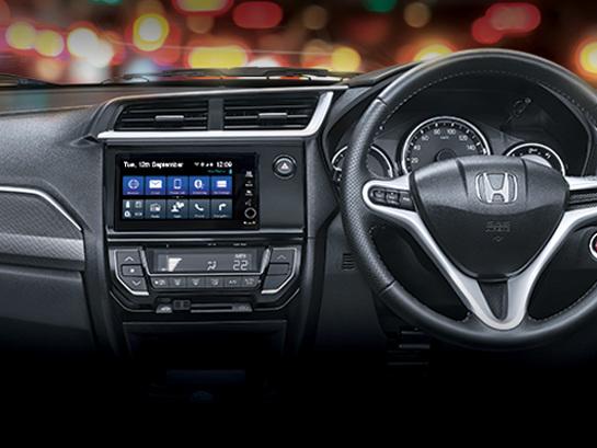 Honda BR-V now gets City's 17.7 cm Digipad touchscreen AVN system