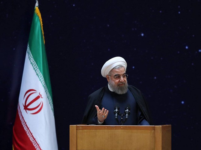 Iranian president Rouhani declares end of Islamic State