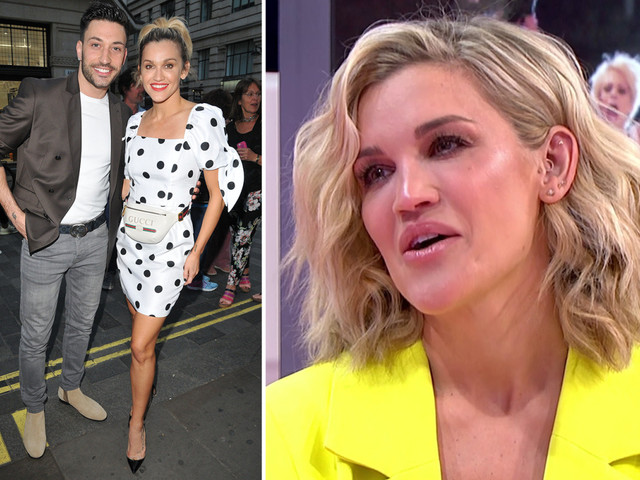 Ashley Roberts insists she trusts boyfriend Giovanni Pernice as Piers Morgan quizzes her about the Strictly curse