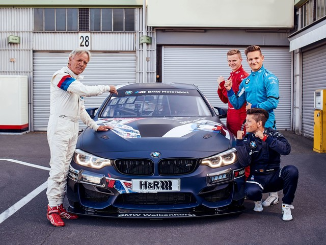 Video: Old vs New on the Ring – Marc Surer takes on BMW Junior Team