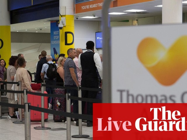 Thomas Cook travel chaos: insolvency leaves 150,000 stranded on holidays – live updates