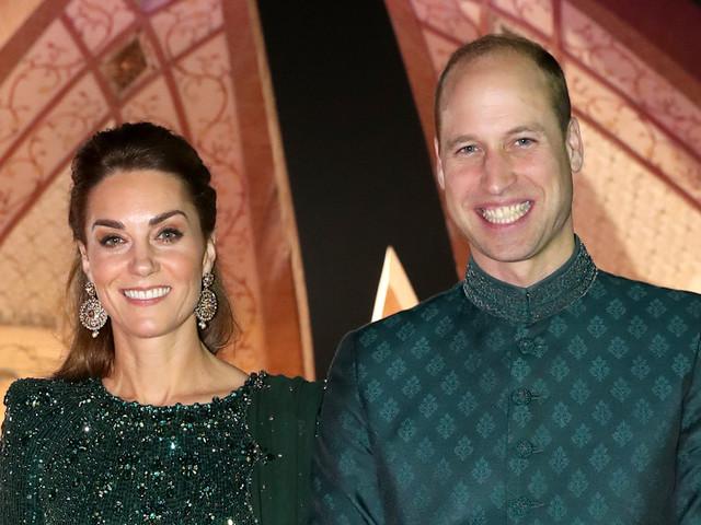 Duchess Kate Middleton & Prince William Enjoy Night Out in Pakistan