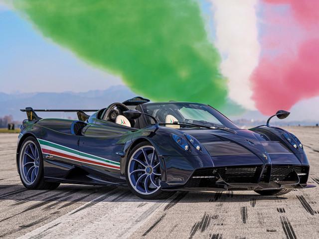 Pagani Huayra Tricolore marks 60 years of Italian aerobatics squad