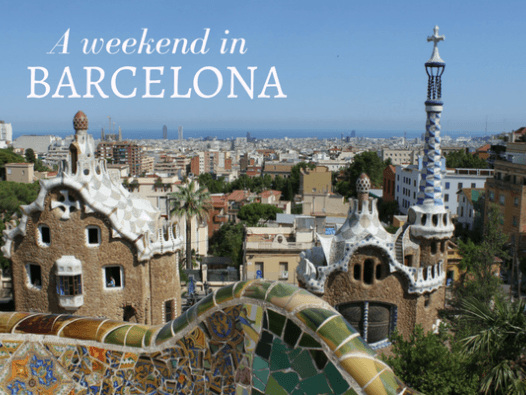 Tips for an Unforgettable Weekend in Barcelona