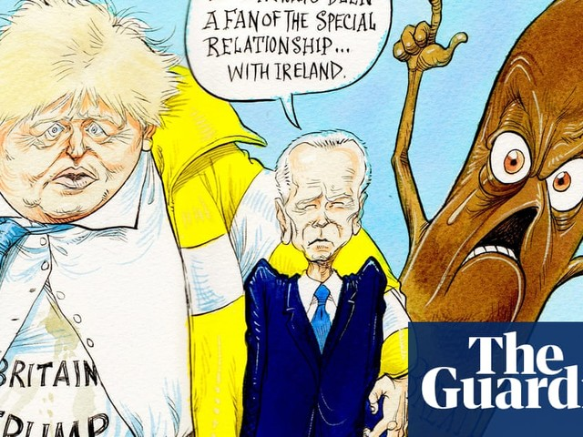 What the special relationship looks like today – cartoon