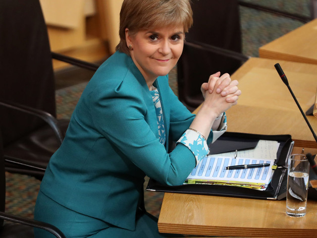 Nicola Sturgeon's Letter Requesting Second Scottish Independence Referendum To Arrive At Downing Street Today