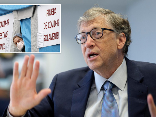 Bill Gates says US in 'BIG trouble' over coronavirus and warns normal life won't return until testing rapidly improves