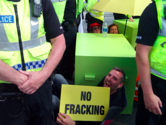 A watchdog has called for an urgent review of police tactics at fracking protests