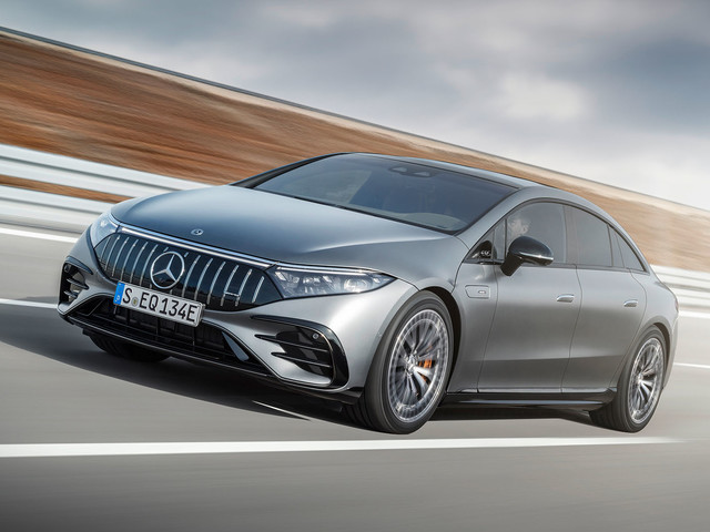 New Mercedes-AMG EQS 53 is performance brand's first EV