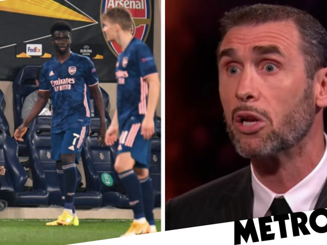 Martin Keown criticises Dani Ceballos and questions Mikel Arteta's decision to play Granit Xhaka at left-back in Villarreal defeat