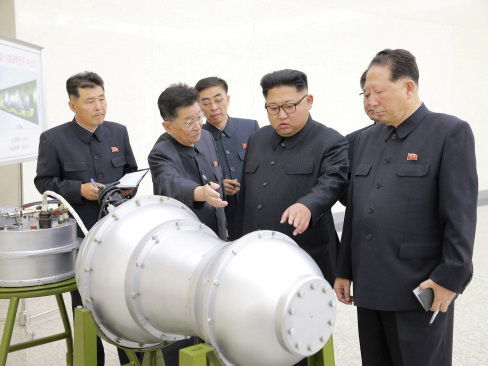 N. Korea has developed H-bomb missile warhead: State media
