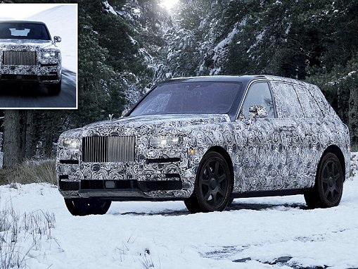 Rolls-Royce names Cullinan SUV after a 3106-carat jewel