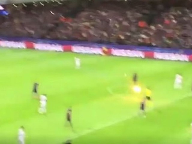 Spartak Moscow fans fire rocket at referee in Maribor Champions League match
