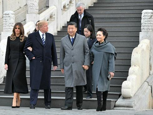 Trump in China for talks on North Korea's 'cruel dictatorship'