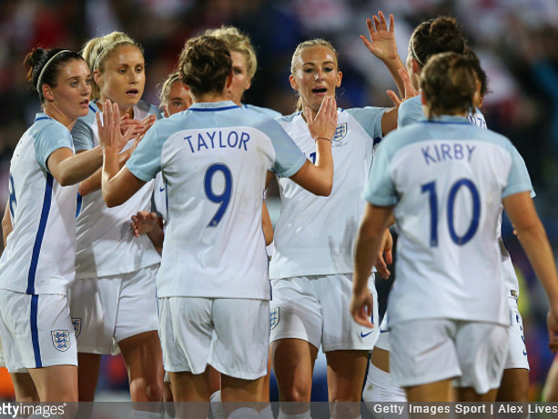 World Cup Qualifier: England Women Combine To Score Lovely Team Goal In 6-0 Drubbing Of Russia (Photos & Video)