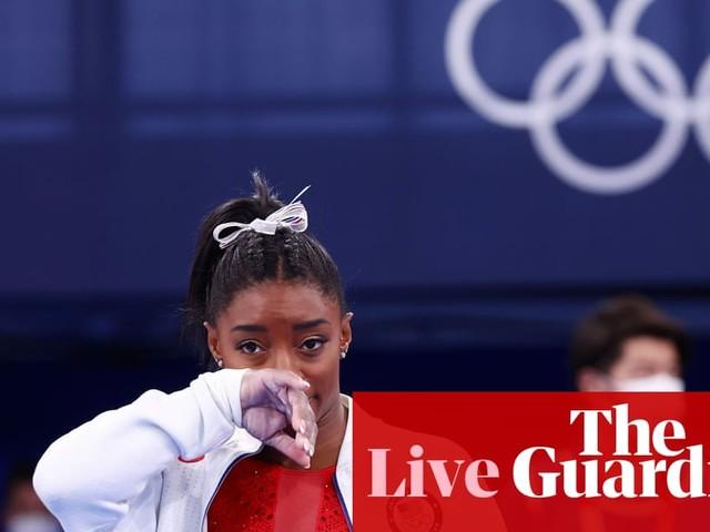 Tokyo Olympics: Simone Biles pulls out of women's gymnastics team all-around final – live!