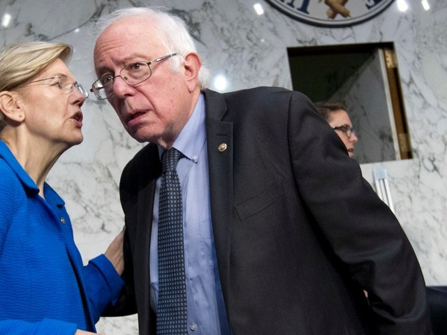 Elizabeth Warren and Bernie Sanders both want to be the Democrats' progressive candidate, and a showdown at the next debate is likely