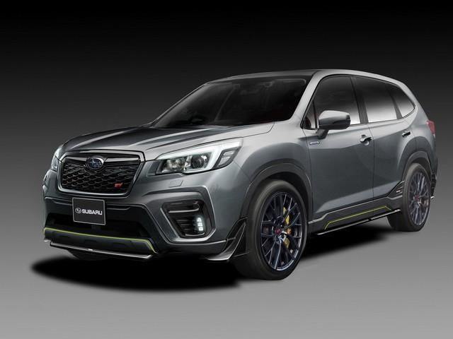Subaru Bringing Dynamic Duo to Tokyo Auto Salon