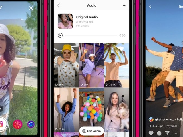 Take a closer look at Instagram Reels, Facebook's TikTok rival launching today in the US (FB)