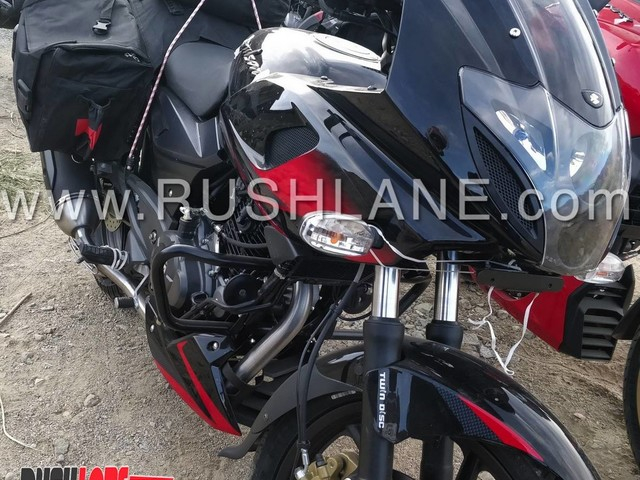 2019 Bajaj Pulsar 220F ABS launch soon – Spied for the first time