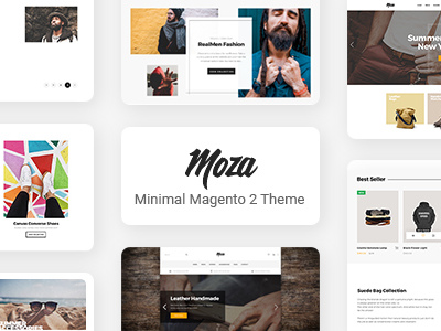 Moza - Minimal Magento 2 Theme (Fashion)