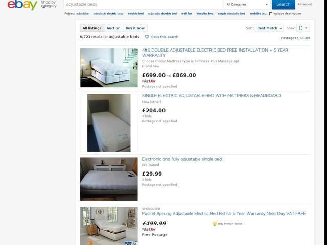 Adjustable Single Beds Canada