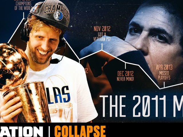 How the Mavericks fell from world champs to the team nobody wanted to join