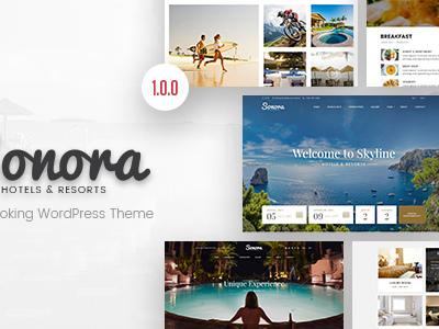 Sonora - Hotel Booking WordPress Theme (Travel)