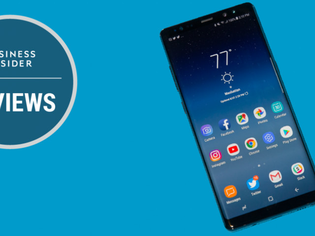Samsung's Galaxy Note 8 is an amazing phone that faces its fiercest competition yet