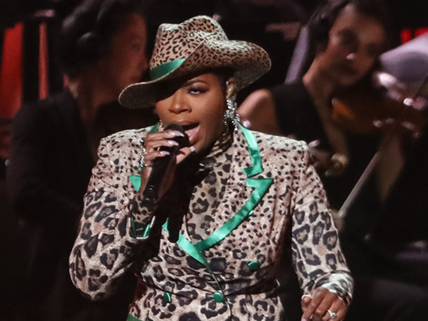 Fantasia Rocks Head-To-Toe Leopard Ensemble For Motown 60th Anniversary Special