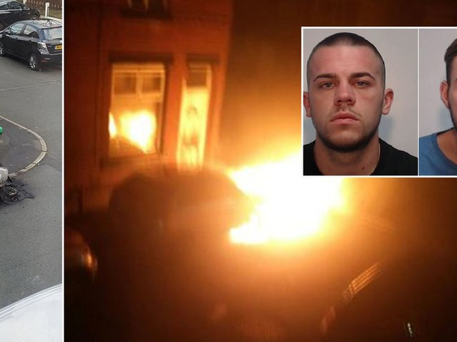 The bitter feud between rival cannabis drugs gangs that ended up with three homes being torched
