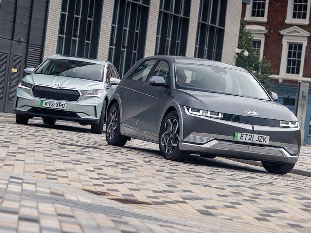 Hyundai Ioniq 5 vs Skoda Enyaq: the best family EV for £40,000?