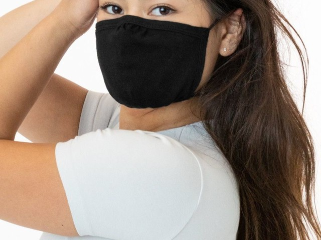 Reusable American-Made Masks - The Los Angeles Apparel FACEMASK3 is Made from 100% Cotton (TrendHunter.com)