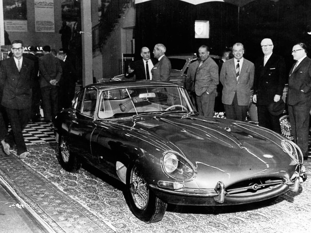 A history of the iconic Jaguar E-Type