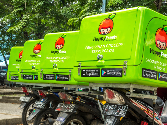 Resurgent HappyFresh raises $20M for its online grocery service in Southeast Asia