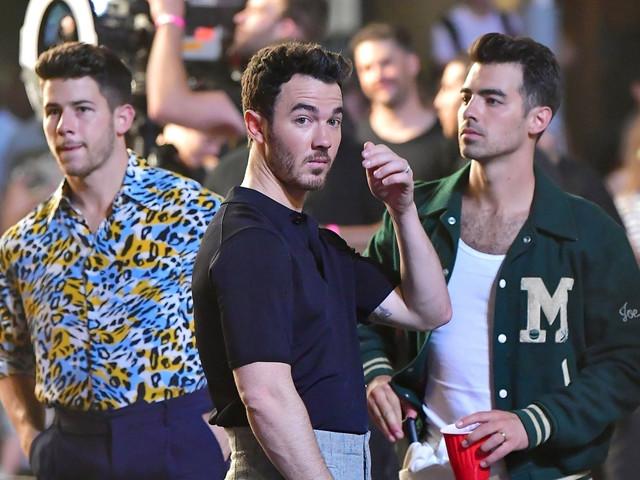 Jonas Brothers Film Their 'Only Human' Video in NYC, Priyanka Chopra Visits the Set