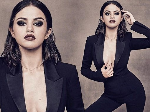 Selena Gomez poses for Billboard's Woman Of The Year