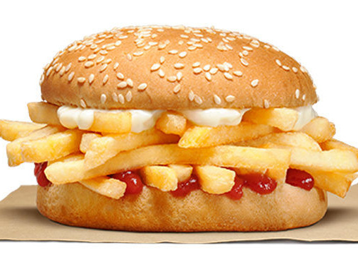 French Fry-Stuffed Sandwiches - Burger King New Zealand is Serving Up a New French Fry Sandwich (TrendHunter.com)