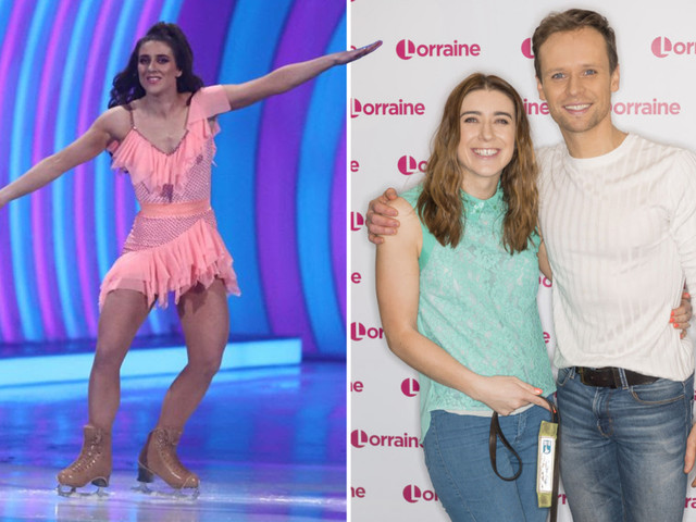 Libby Clegg reveals she's lost over one stone of 'mum weight' since signing up to Dancing on Ice