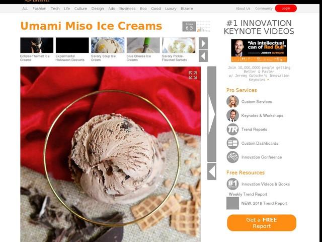 Umami Miso Ice Creams - Salt & Straw's Xocolatl de Davíd's Miso Bar Dessert is a Collaborative Treat (TrendHunter.com)