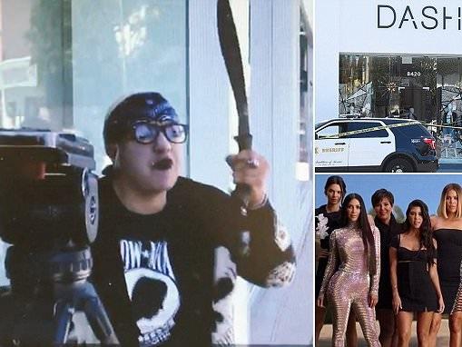 Woman with gun and machete threatens to kill Kardashians