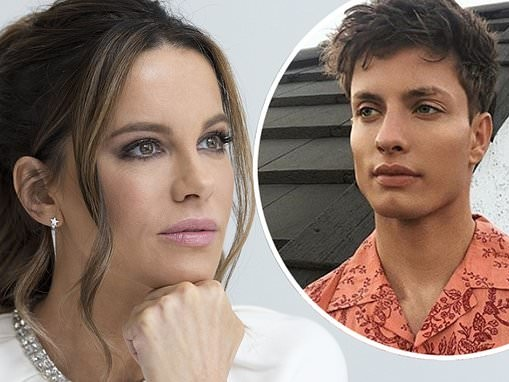 Kate Beckinsale puts on a steely display after Matt Rife throws shade at her and Pete Davidson