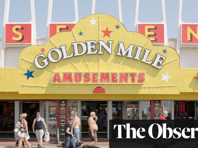Rob Ball's Funland: British seaside towns – in pictures