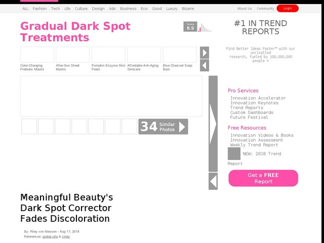 Gradual Dark Spot Treatments - Meaningful Beauty's Dark Spot Corrector Fades Discoloration (TrendHunter.com)