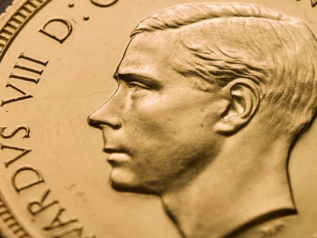 Rare Edward VIII coin sells for £1m - and why he's facing the wrong way